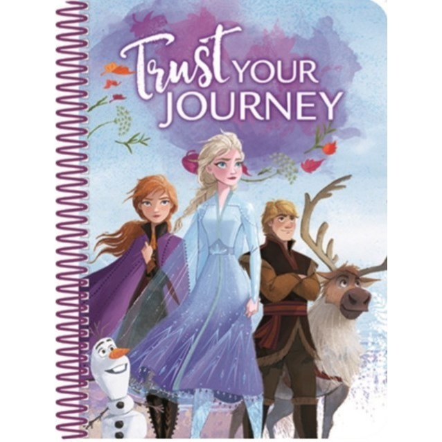 Carnetel de notite A5 cu spira Frozen II Journey [0]