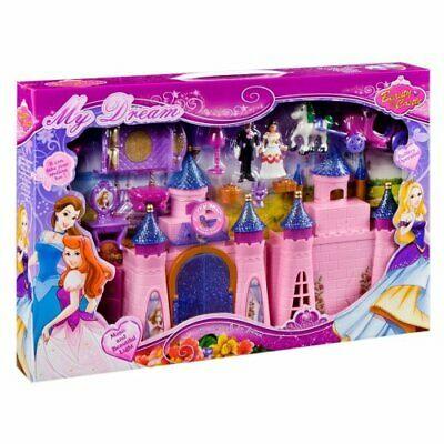 Castel roz My dream cu sunet si lumini 47x32x6 cm [1]