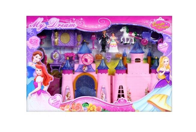 Castel roz My dream cu sunet si lumini 47x32x6 cm [0]