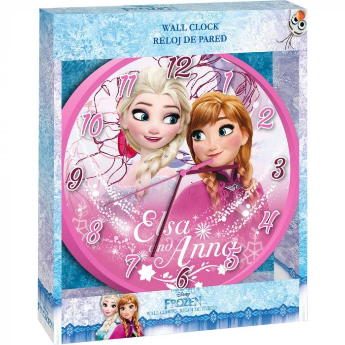 Ceas de perete Disney Frozen 0