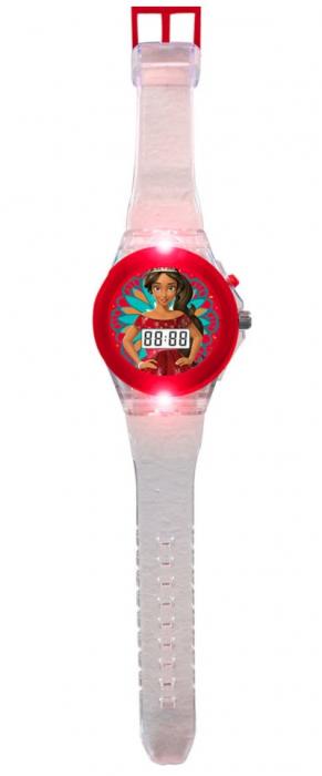 Ceas digital Elena din Avalor cu lumini 0