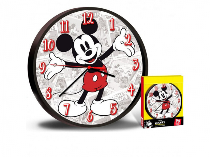 Ceas perete Mickey Mouse 25 cm 1