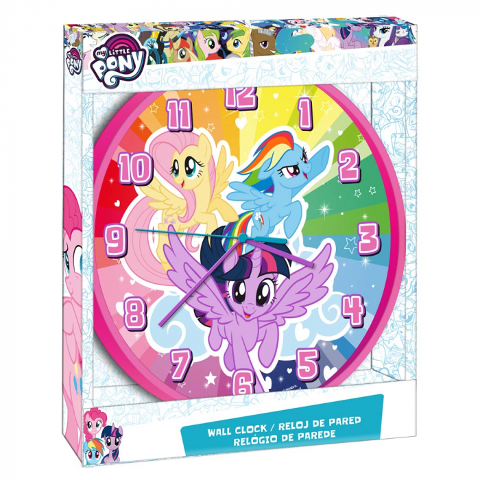 Ceas perete My Little Pony 25 cm 0