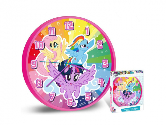 Ceas perete My Little Pony 25 cm 1