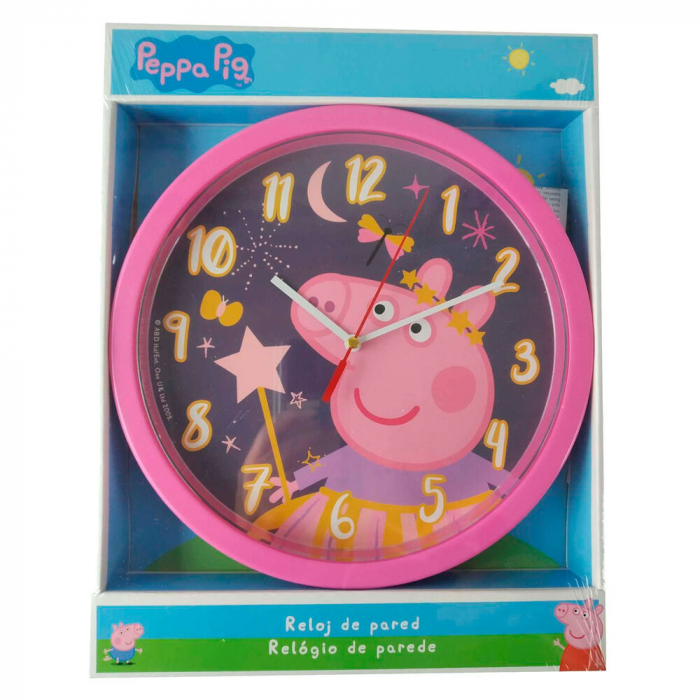 Ceas perete Peppa Pig, 25 cm [1]
