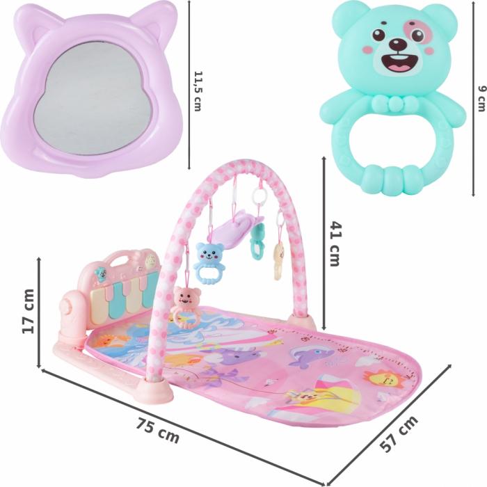 Centru de Activitati Bebe Saltea Cu Pian [2]