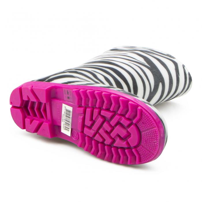 Cizme cauciuc Zebra,roz [1]