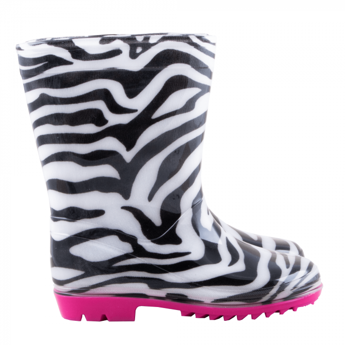 Cizme cauciuc Zebra,roz [4]