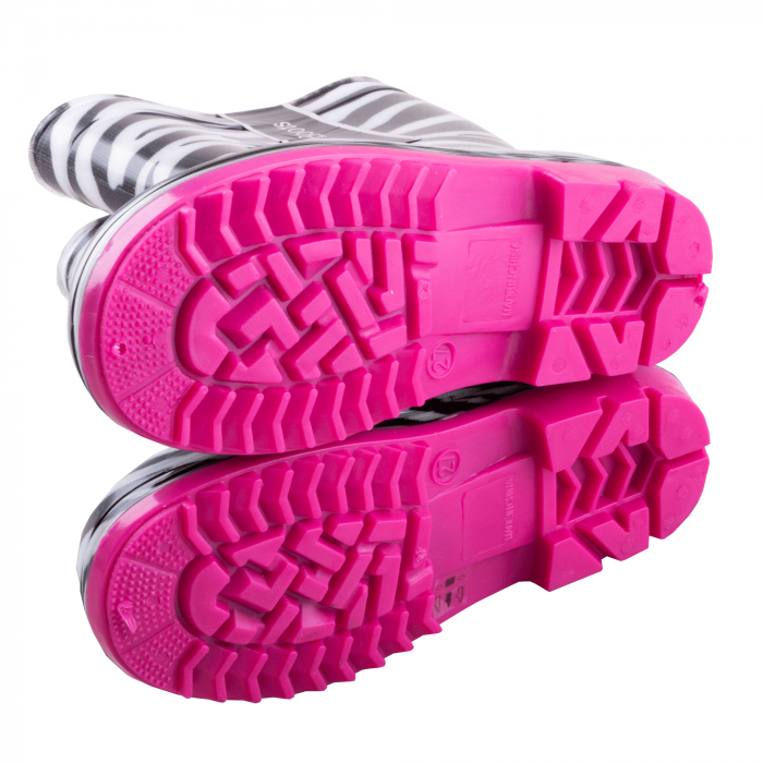Cizme cauciuc Zebra,roz [5]