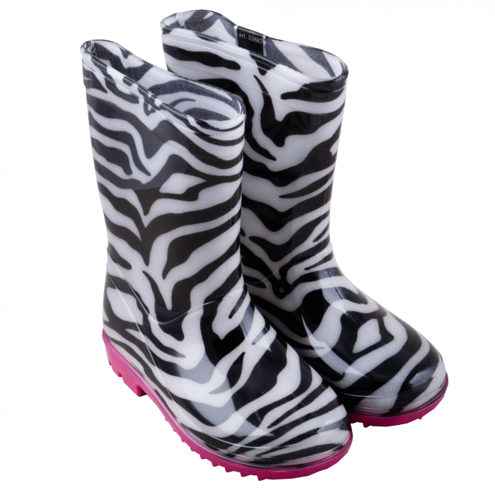Cizme cauciuc Zebra,roz [3]