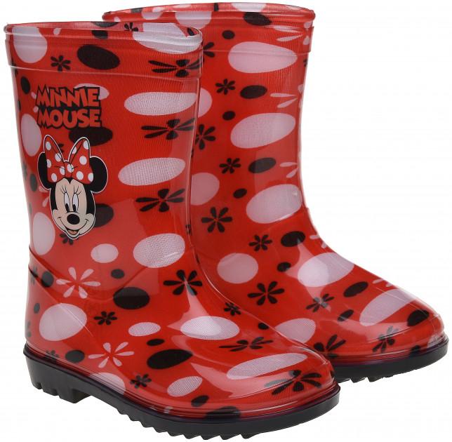 Cizme de ploaie Minnie rosii 25-26 0