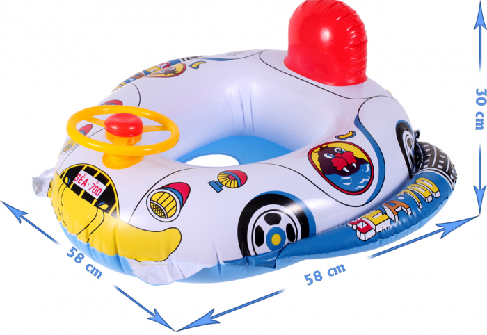 Colac gonflabil cu volan si spatar [2]