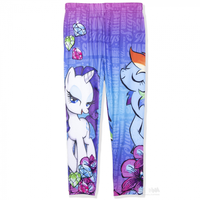 Colanti lungi My Little Pony, roz/albastru, 3/4 ani [0]