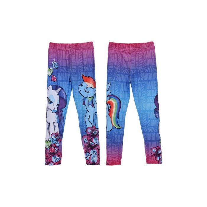 Colanti lungi My Little Pony, roz/albastru, 5/6 ani [2]