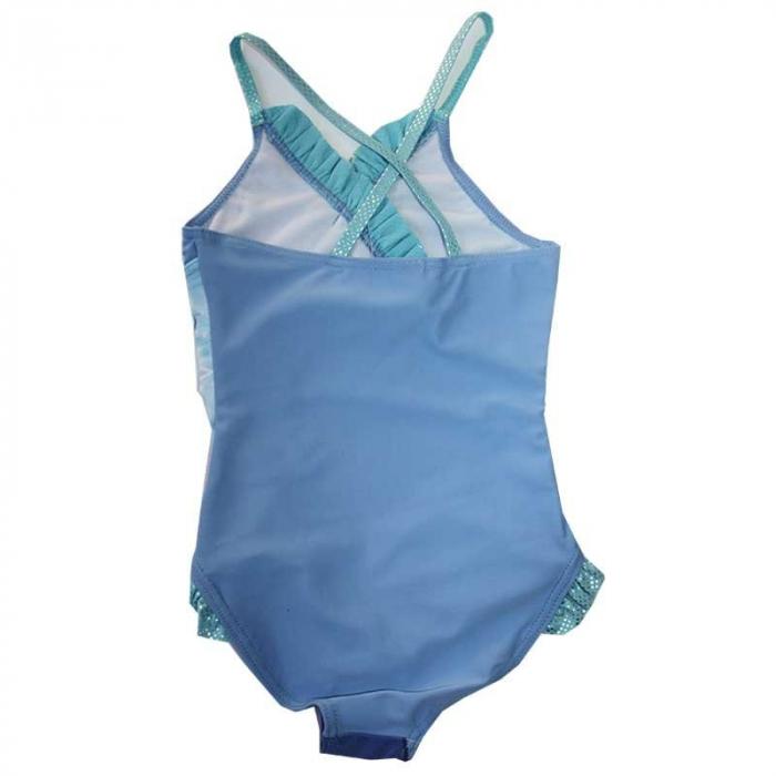 Costum baie intreg Frozen bleu, 4 ani, 104 cm 1