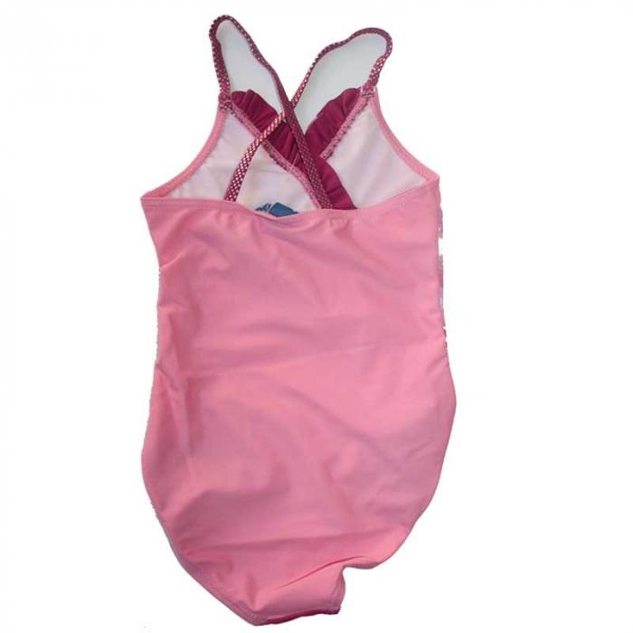 Costum baie intreg Frozen roz, 5 ani, 110 cm 2