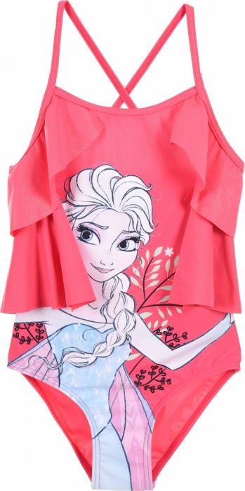 Costum de baie Frozen cu volane [0]