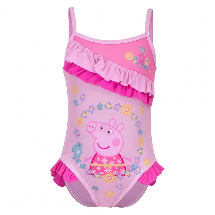 Costum de baie intreg Peppa Pig, Flower 0