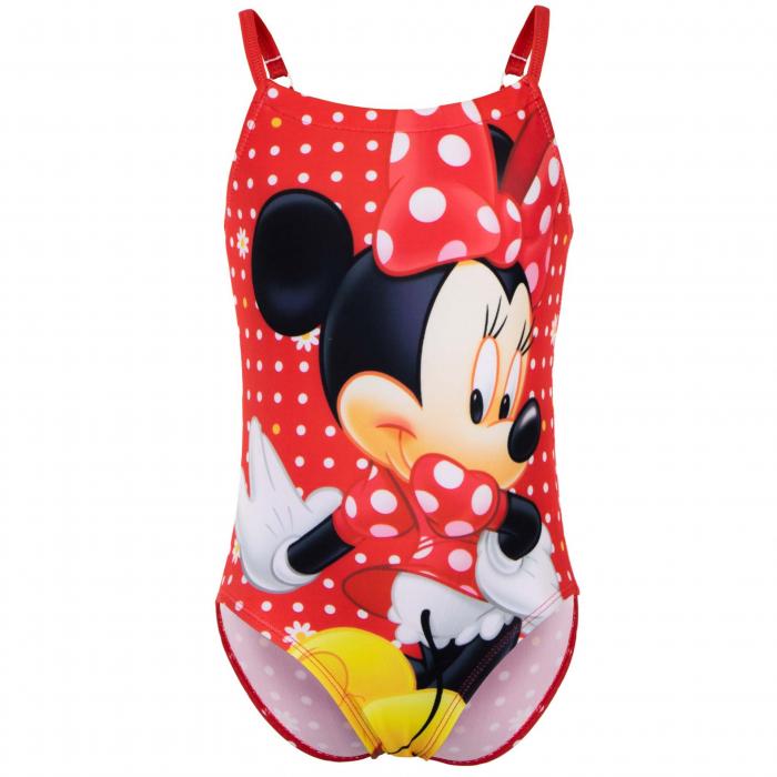 Costum de baie intreg Minnie Mouse, rosu 0