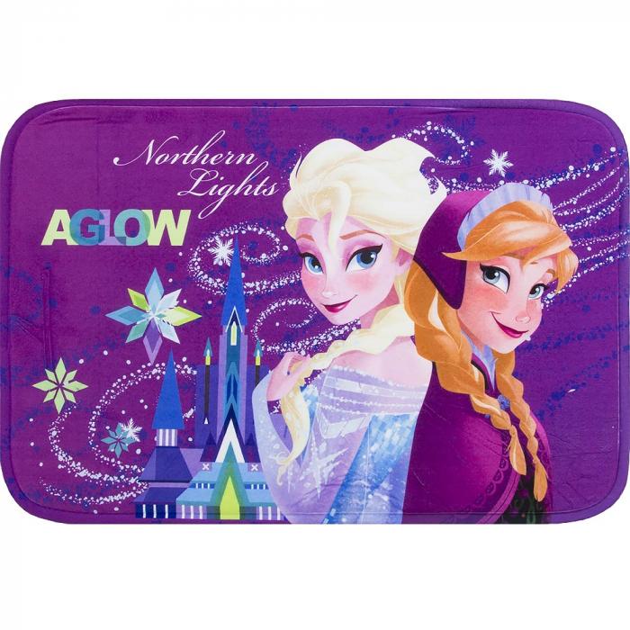 Covor Frozen Elsa mov 40x60 cm 0