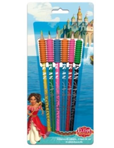 Creioane colorate 6 bucati Elena din Avalor [0]