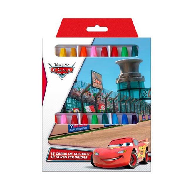 Creioane colorate cerate Cars 18 bucati [0]