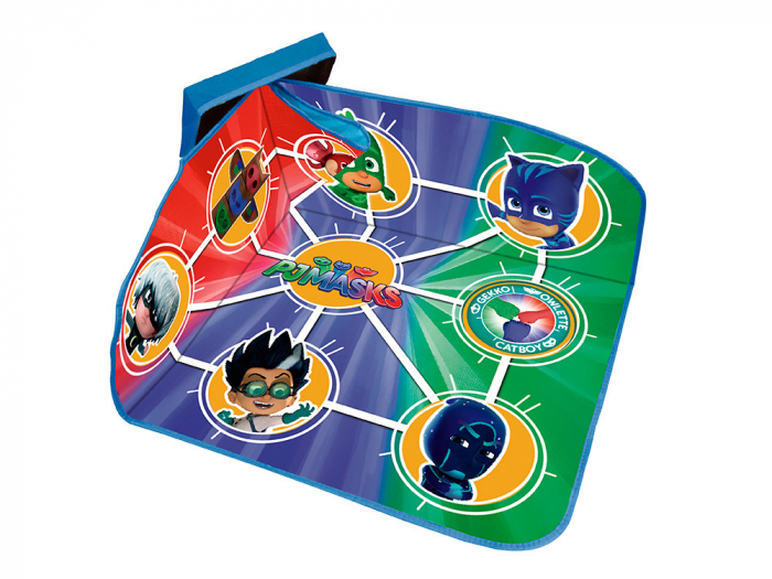 Cutie cu capac tabla de joc , depozitare jucarii PJ Masks 41x31x28 cm 1