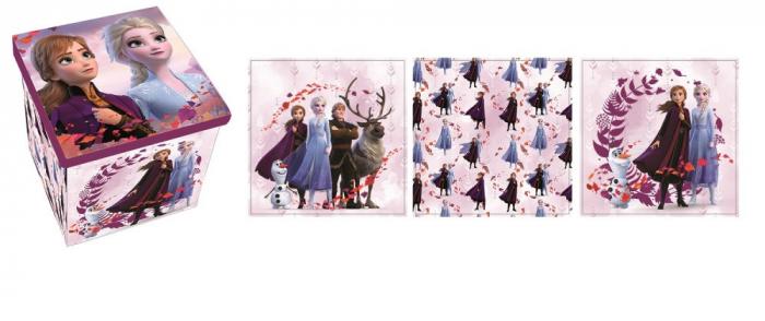 Cutie depozitare jucarii Frozen II 30x30x30 cm 1