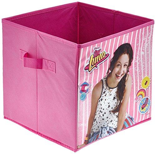 Cutie depozitare jucarii Soy Luna roz 28.5x28.5x28 cm 0