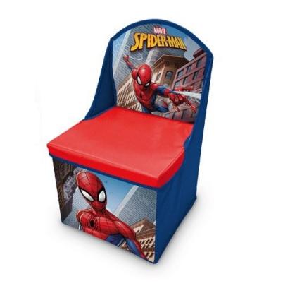 Cutie scaun depozitare jucarii Spiderman 0