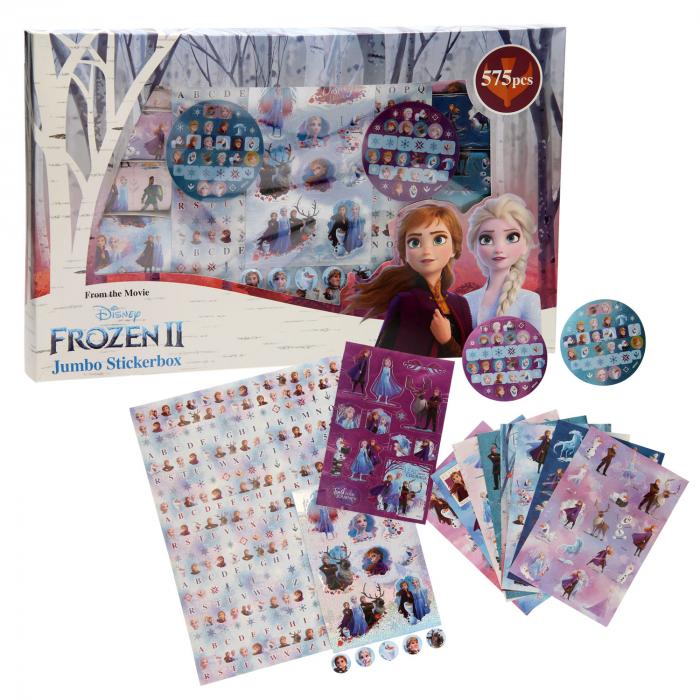 Cutie stickere frozen 575pcs 0