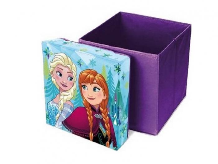 Cutie taburet depozitare jucarii Frozen 31x31x33 [0]