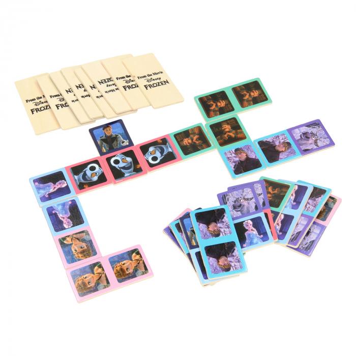 Domino Frozen lemn 28 piese [1]