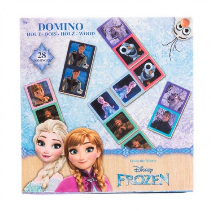 Domino Frozen lemn 28 piese [0]