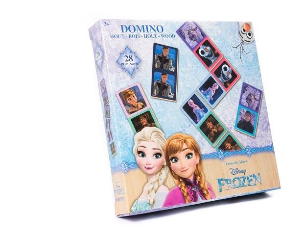 Domino Frozen lemn 28 piese [4]