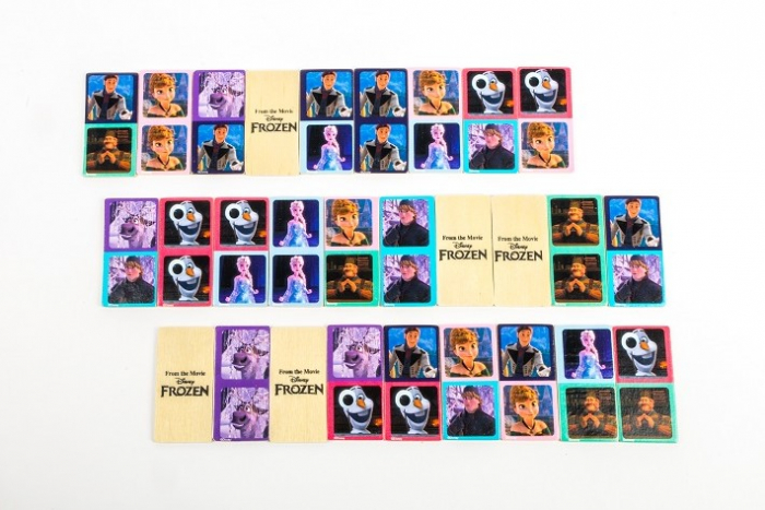 Domino Frozen lemn 28 piese [3]