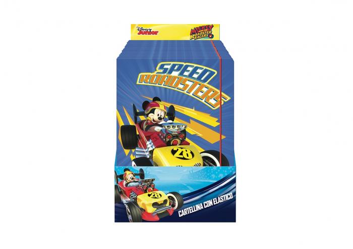 Dosar carton cu elastic Mickey Mouse 25x34 cm [0]