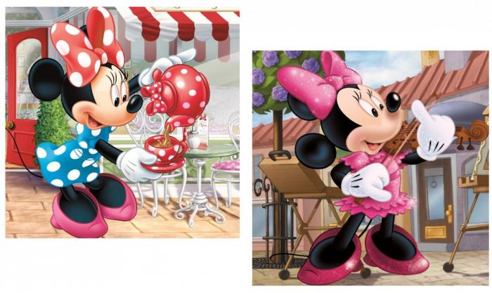 Fata de perna Minnie Mouse 40x40 cm 0