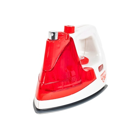 Fier de calcat pentru copii, jucarie cu sunete si lumini, 20 cm rosu [0]