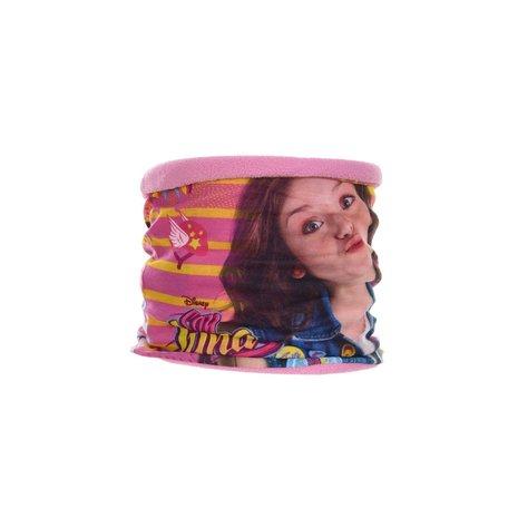 Fular tub guler Soy Luna roz 50x22 cm 0