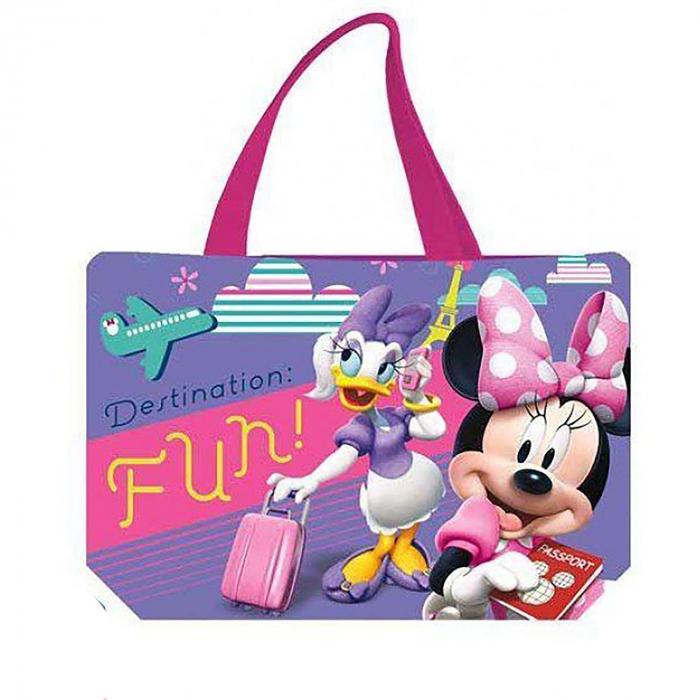 Geanta de plaja Minnie Mouse Adventure 34x50 cm 0