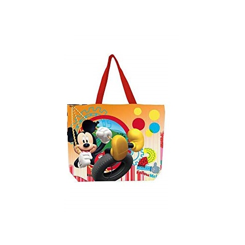 Geanta plaja Mickey Mouse portocaliu 40x52 cm 1