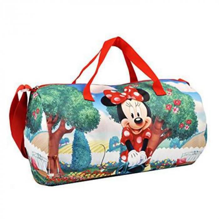 Geanta sport Minnie Mouse 43x24x24cm 2