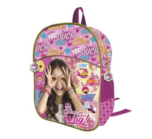 "Ghiozdan 2 compartimente Soy Luna ""Your Way"" mov 34 cm 0"