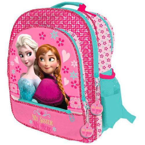 """Ghiozdan Frozen 4 compartimente """"My sister"""" 41x33x6cm 0"""