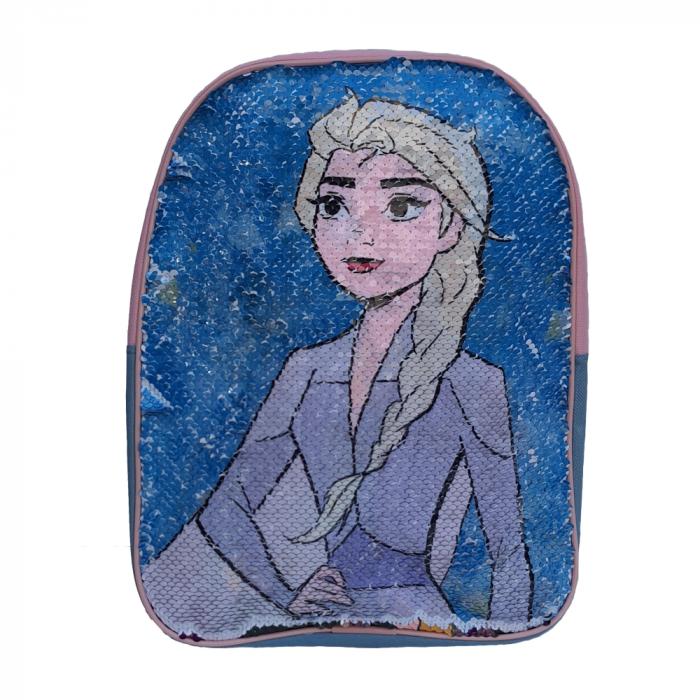 Ghiozdan Frozen Anna si Elsa paiete reversibile [1]