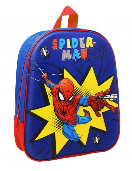 Ghiozdan gradinita Spiderman 3D 0