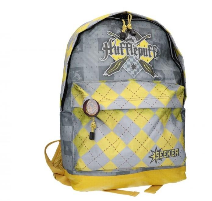 "Ghiozdan Harry Potter ''Quidditch Hufflepuff"" 44x30x17cm 0"
