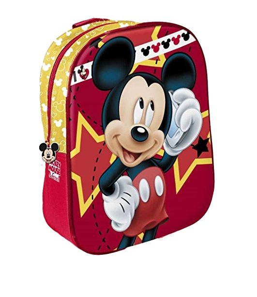 Ghiozdan Mickey Mouse 3D 0
