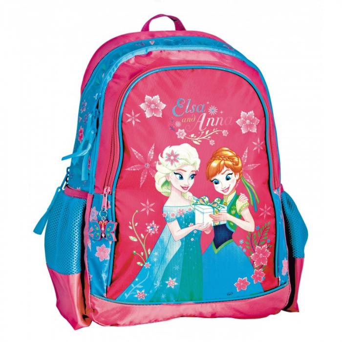 Ghiozdan scoala Frozen Ana si Elsa [0]